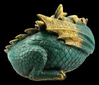 Dozing Dragon Figurine
