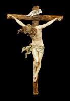 Wall Plaque Crucifix - Jesus on Cross