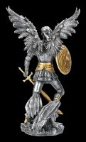 Archangel Figurine - Michael silver gold