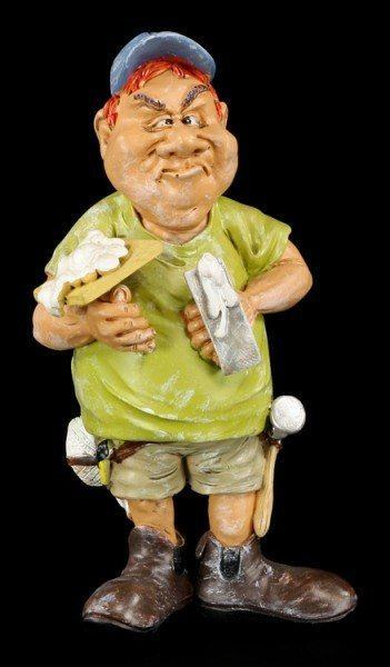 Plasterer - Funny Job Figurine