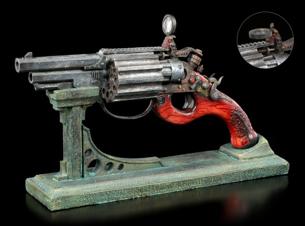 Steampunk Decoration Gun - The Trigan Pistolle MK II