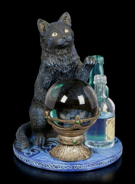 Katzen Figur - The Witches Apprentice