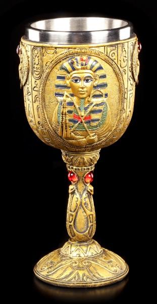 Goblet - Egyptian King Tutanchamun
