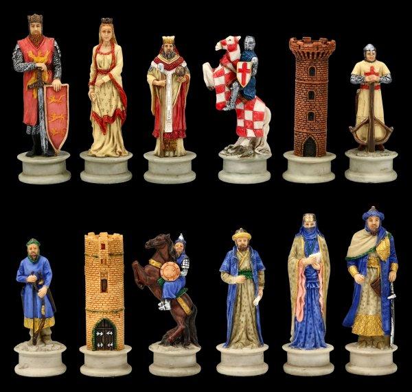 Chessmen Set - Crusader vs. Saracens
