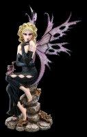 Large Fairy Figurine - Liliana with Dragon