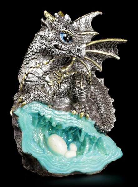 Dragon Figurine - Blue Guardian
