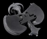 Wandrelief - Kreuz Drache