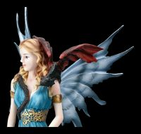 Fairy Figurine - Kalia with Dragon on Shoulder