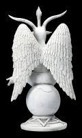 Baphomet Figurine white - The Dark Lord