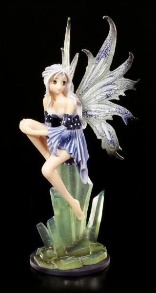 Manga Elfen Figur - Lisra auf Kristallen