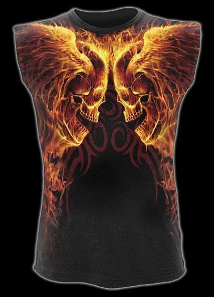 Ärmelloses Shirt - Burn In Hell