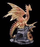 Dragon Figurine - Volense and Mout on Mountain
