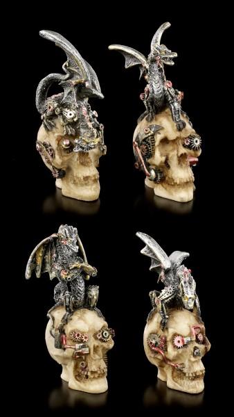 Drachen Figuren - Mind Machines - 4er Set