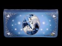 Geldbörse mit Einhörnern - Sacred Love - geprägt