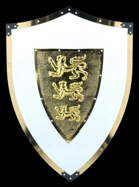Knights Shield - Lions Crest