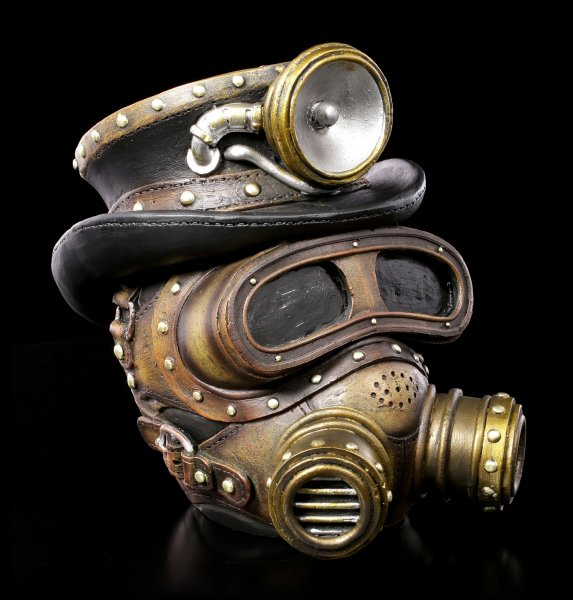 Steampunk Skull - Mechanical Oxygenation
