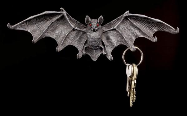 Schlüsselbrett - Fledermaus mit roten Augen