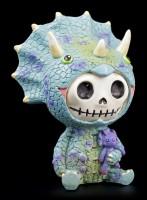 Furry Bones Figurine - Triceratops