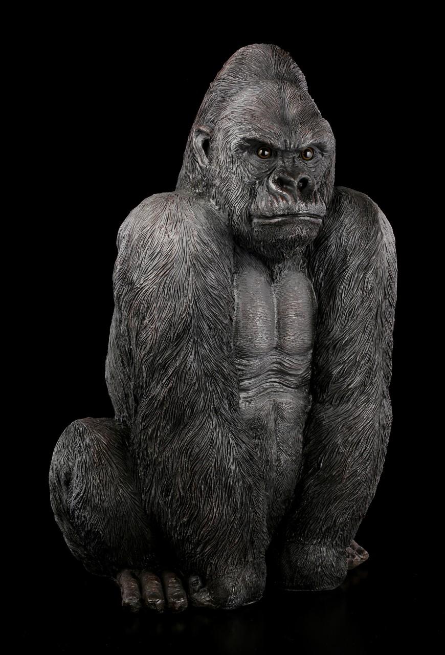 Large Garden Figurine - Gorilla