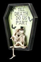 Wandrelief Skelette - Till Death Do Us Part