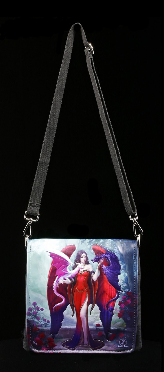 Shoulder Bag - Dragon Mistress - embossed