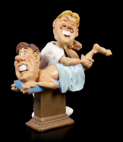 Funny Job Figurine - Chiropractor