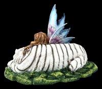 Fairy Figurine - Maritima with white Tiger