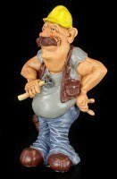 Builder - Funny Job Figurine