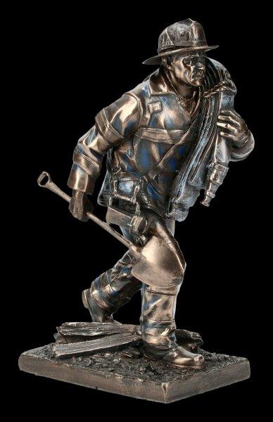 Fireman Figurine - Responding to Call