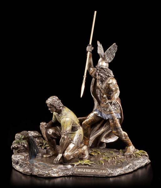 Hagen & Siegfried Figuren - Siegfrieds Tod