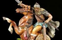 Viking Figurine - Warrior on Horse