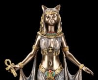 Bastet Figurine with Ankh