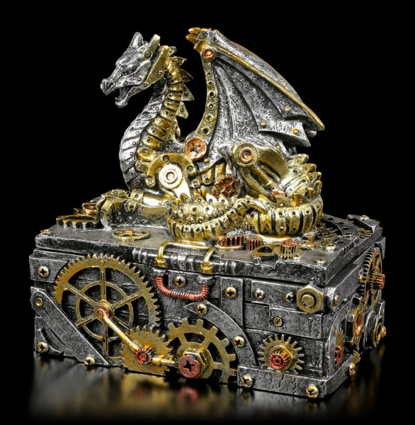 Steampunk Dragon Box - Secrets of the Machine