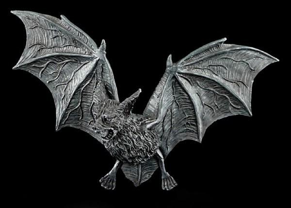 Bat Wall Plaque Gothic - medium