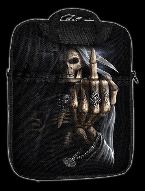 Bone Finger - Spiral Tablet Shoulder Bag