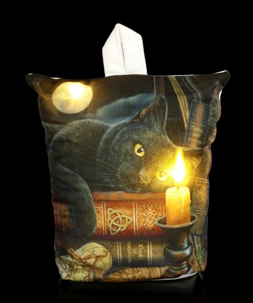 Türstopper mit LED und Katze - The Witching Hour