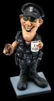 Funny Job Figur - Polizist mit Donut