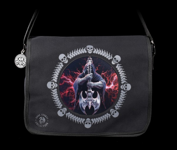 3D Messenger Bag with Reaper - Rock God