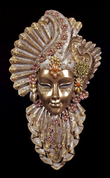 Venezianische Maske - Charm Flower