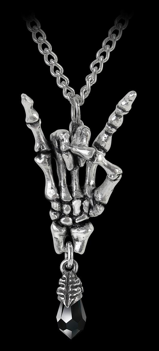 Alchemy Halskette Frauen - Maloik Sign Of The Horns