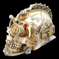 Alchemy The Vault - Steampunk Totenkopf