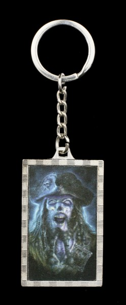 3D Keyring Pirate - Captain Grimbeard
