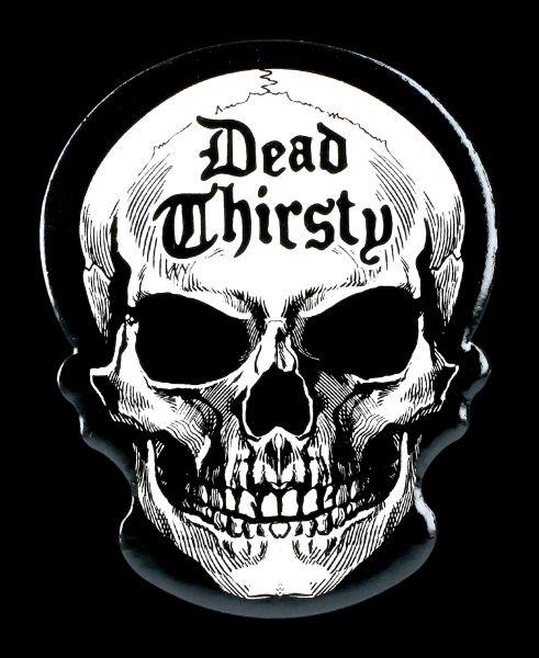 Untersetzer Totenkopf - Dead Thirsty