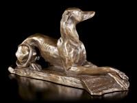 Windhund Figur - Greyhound liegend