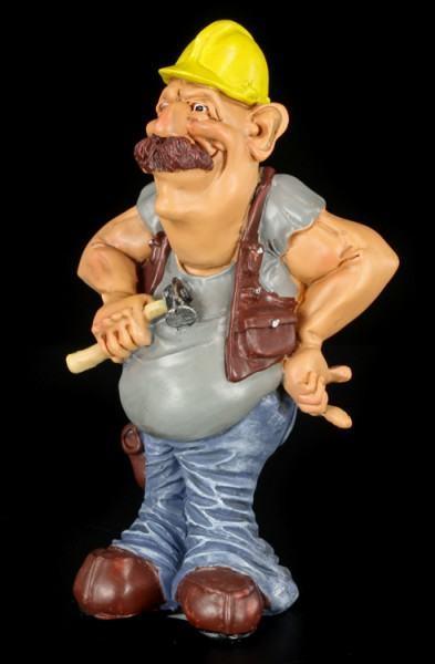 Builder - Funny Job Figurine