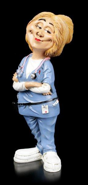 Funny Job Figur - Lächelnde Krankenpflegerin