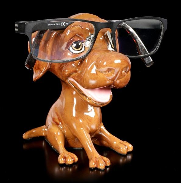 Glasses Holder Dog - Chocolate Labrador - Opti Paws