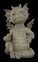 Garden Figurine - Naughty Dragon showing middle finger