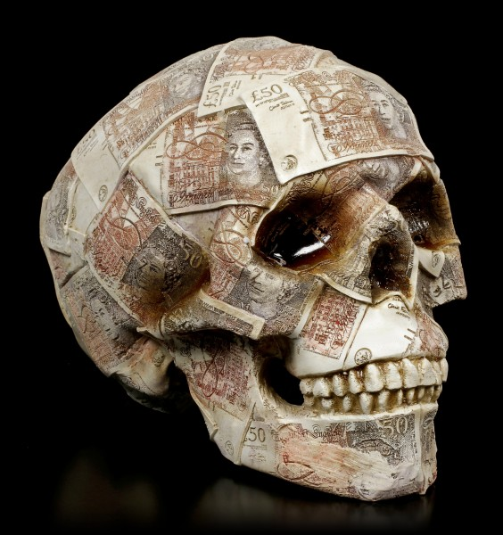 Money Bank Skull - Quids