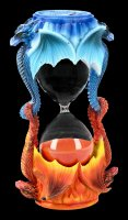 Hourglass - Fire and Ice Dragon